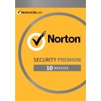 Internet Security: Norton Security Premium | 10 Devices + 25GB Backup | 1 Year 2021 - Antivirus included - Windows | Mac | Android | iOS