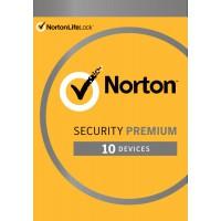 Security: Norton Security Premium | 10 Devices + 25GB Backup | 1 Year 2021 - Antivirus included - Windows | Mac | Android | iOS