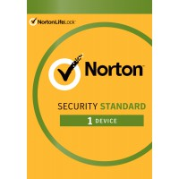 Security: Norton Security Standard 2021 | 1 Installation | 1 Year | Windows | Mac | Android | iOS