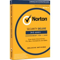 Total Security: Norton Security Deluxe | 6-Geräte | 1-Jahr 2021 - Virenschutz inklusive - Windows | Android | iOS