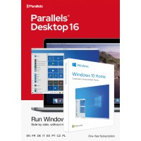 Operating Systems: Parallels Desktop 16 for Mac | 1Year | 1 installation + Windows 10 Home (N)