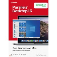 Windows on your Mac: Parallels Desktop  16 | for Mac | Edu version | 1Year | 1 installation