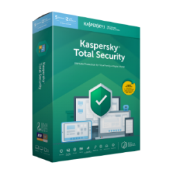 Total Security: Kaspersky Total Security 2021 3Devices 1year