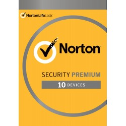 Total Security: Norton Security Premium | 10 Devices + 25GB Backup | 1 Year 2021 - Antivirus included - Windows | Mac | Android | iOS