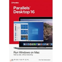 Operating Systems: Parallels Desktop 16 for Mac | 1Year | 1 installation
