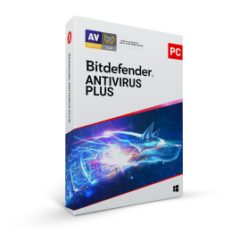 Bitdefender Antivirus Plus 2021 1PC 1year