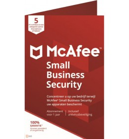 McAfee Small Business Security 2021 5 Devices 1year