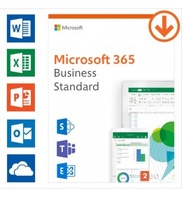 Microsoft 365 Business Standard | Annual subscription | 1User | 15 Devices