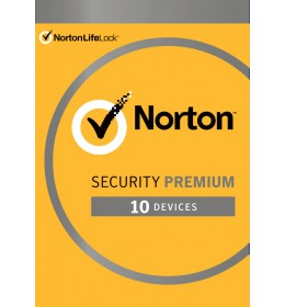 Norton Security Premium | 10 Devices + 25GB Backup | 1 Year 2021 - Antivirus included - Windows | Mac | Android | iOS