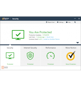 Norton Security Deluxe 5-Devices 1-Year 2021