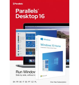 Parallels Desktop 16.5 for Mac | 1Year | 1 installation + Windows 10 Home (N)