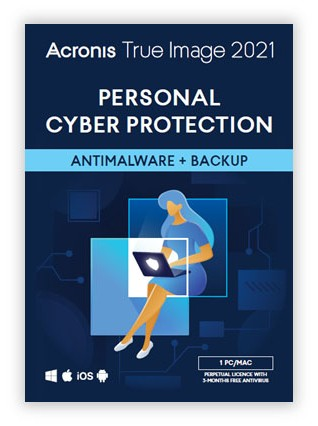 Back-up products: Acronis True Image Advanced 2021 | 1Device | 1Year