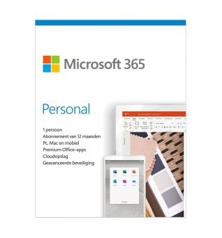 Microsoft 365 Personal | 1User 1 year | Including updates
