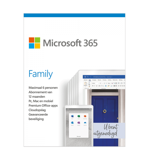 Microsoft 365 Family | 6Users 1 year | Including updates