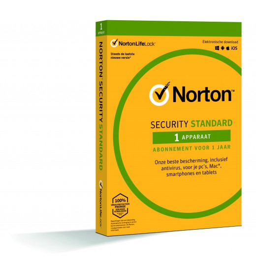 Securitysoftware: Norton Security Standard | 1 Device | 1 year