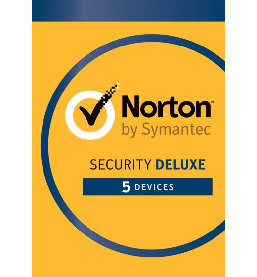 Norton Security Deluxe | 5-Devices  | 1-year