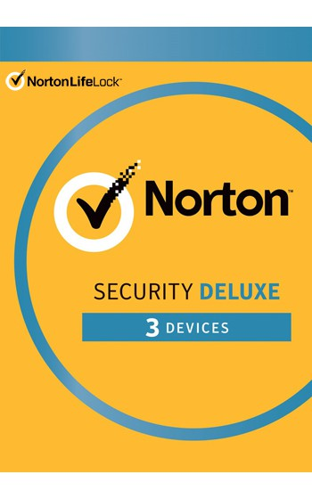 Norton Security Deluxe 3 Devices 1 Year - Antivirus included - Windows | Mac | Android | iOS