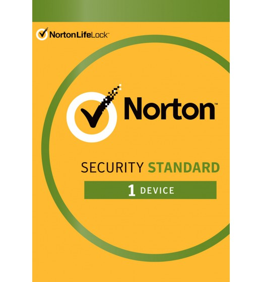 Antivirus Software: Norton Security Standard | 1 Device | 1 year